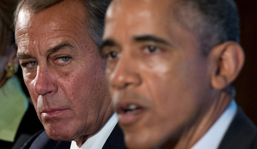 House Speaker John A. Boehner said that after the upcoming GOP House retreat, the Republicans will have a better plan on how to cancel out President Obama's amnesty. (Associated Press)