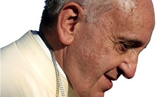 Pope Francis     Associated Press photo