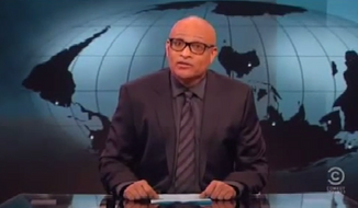 "Comedy Central Host Larry Wilmore began his ""Nightly Show"" debut on Monday by mocking Al Sharpton for thrusting himself to the forefront of virtually every black issue. (Comedy Central via YouTube)"