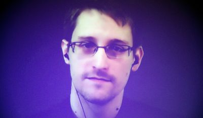 Edward Snowden, a former contractor who fled the United States after exposing NSA spy secrets, shared documents with German magazine Der Spiegel that appear to show that China stole sensitive data about U.S. warplanes, including engine schematics and radar design. (Associated Press) ** FILE **