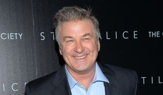 "Actor Alec Baldwin attends a special screening of his film ""Still Alice"" in New York, in this Jan. 13, 2015, file photo. (Photo by Evan Agostini/Invision/AP, File)"