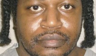 FILE - This June 29, 2011, photo provided by the Oklahoma Department of Corrections shows Charles Warner. Warner was executed Jan. 15, 2015 for the 1997 killing of his roommate's 11-month-old daughter. The Supreme Court is stepping into the issue of lethal injection executions for the first time since 2008 in an appeal filed by death row inmates in Oklahoma. The justices agreed Friday, Jan. 23, 2015, to review whether the sedative midazolam can be used in executions because of concerns that it does not produce a deep, comalike unconsciousness and ensure that a prisoner does not experience intense and needless pain when other drugs are injected to kill him. The order came eight days after the court refused to halt the execution Warner that employed the same combination of drugs. The appeal was brought to the court by four Oklahoma inmates with execution dates ranging from January to March. The justices allowed Warner to be put to death and denied stays of execution for the other three. Friday's order does not formally call a halt to those scheduled procedures. But it is inconceivable that the court would allow them to proceed when the justices already have agreed to a full-blown review of the issue. (AP Photo/Oklahoma Department of Corrections, File)