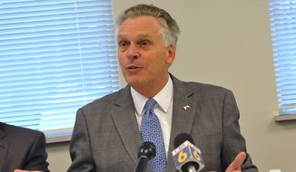 Virginia Gov. Terry McAuliffe on Monday announced an additional $136 million in state revenue as a result of a final midsession analysis. (AP Photo/The Progress-Index, Patrick Kane)
