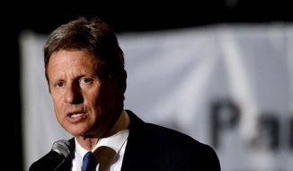 Gary Johnson, who ran for the White house in 2012 as the Libertarian Party candidate, now leads a national movement to allow third party candidates in national presidential debates. (Associated press)