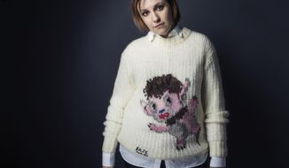 "Lena Dunham poses for a portrait to promote the film, ""It's Me, Hilary: The Man Who Drew Eloise"", at the Eddie Bauer Adventure House during the Sundance Film Festival on Sunday, Jan. 25, 2015, in Park City, Utah. (Photo by Victoria Will/Invision/AP)"