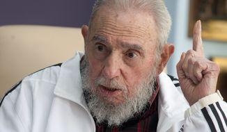Fidel Castro. (Associated Press) ** FILE **