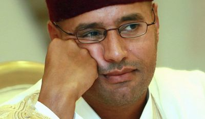 Seif Gadhafi, the son of the longtime Libyan dictator, was captured by the Zintan tribe and remains in solitary confinement in a Zintan prison cell. (Associated Press photographs)