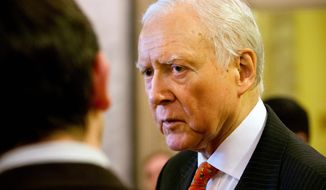 Sen. Orrin Hatch, Utah Republican, is hoping the Supreme Court will rule against the Obama administration in the case over exchanges and subsidies, but the administration is using Mr. Hatch's own words to defend the law, citing an op-ed he wrote about the Affordable Care Act five years ago. (Associated Press)