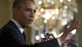 President Obama said that 99.9 percent of Muslims are peace-loving.  (AP Photo/Carolyn Kaster, File)