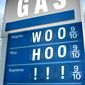 Illustration on lowered gas prices by M. Ryder/Tribune Content Agency