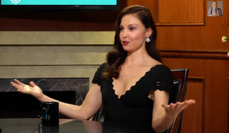 Actress Ashley Judd expressed her excitement for a possible Hillary Clinton presidential run, arguing that the former secretary of state is the most overqualified candidate since America's Founding Fathers. (YouTube via Ora TV)