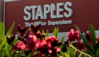Office supply market leader Staples confirmed Wednesday that it would acquire No. 2-ranked rival Office Depot in a cash and stock deal to create a combined company with more than 4,000 locations and annual sales of nearly $39 billion. (Associated Press)