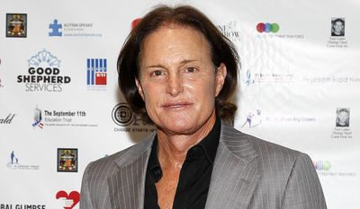 Former Olympic athlete Bruce Jenner arrives at the Annual Charity Day hosted by Cantor Fitzgerald and BGC Partners, in New York, in this Sept. 11, 2013, file photo. (Photo by Mark Von Holden/Invision/AP, File)