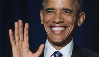 President Barack Obama. (AP Photo/Evan Vucci)