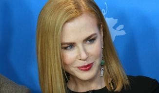 Actress Nicole Kidman poses for photographers at the photo call for the film Queen of The Desert at the 2015 Berlinale Film Festival in Berlin Friday, Feb. 6, 2015. (Photo by Joel Ryan/Invision/AP) ** FILE **
