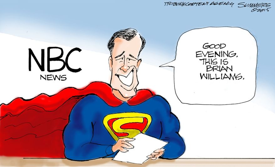 Illustration by Dana Summers of the Tribune Media Services