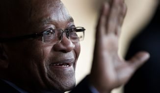 South African President Jacob Zuma will deliver his State of the Nation speech on Thursday amid widespread discord. (Associated Press)