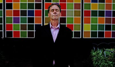 New York Times media columnist David Carr has died at his office at age 58. (Associated Press)