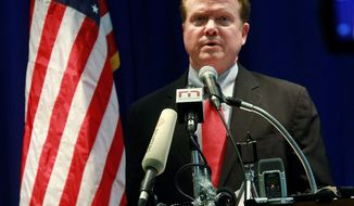 Former Virginia Sen. Jim Webb said Sunday he is still trying to figure out if he could launch a viable bid for presidency in 2016.  He will enter if he can be convinced that he can compete financially without selling out on the core issues he wants to push. (Associated Press)