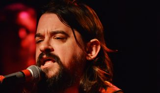 """Waylon Albright """"Shooter"""" Jennings has a distinct sound and divergent musical tastes that translate into live shows with Waymore's Outlaws, his late father's touring and recording band. (ASSOCIATED PRESS)"""