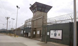 President Obama has pledged to close the detention facility for terrorist suspects at Guantanamo Bay Naval Base, Cuba. (Associated Press)