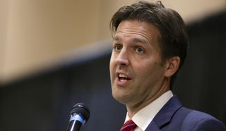 """Hundreds of thousands of enrollees lost their plans when co-ops in nine states collapsed, and these victims deserve clear and honest answers from the bureaucrats who oversaw the mess,"" said Sen. Ben Sasse, Nebraska Republican. (Associated Press)"