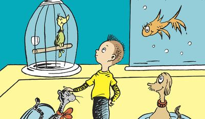 A new Dr. Seuss book is due in July - based on long lost manuscript and artwork. (Random House)