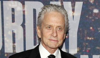 Actor Michael Douglas attends the SNL 40th Anniversary Special at Rockefeller Plaza in New York, in this Feb. 15, 2015, file photo. (Photo by Andy Kropa/Invision/AP, File)