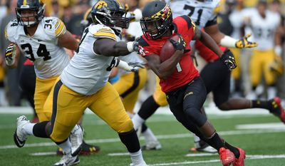 "Maryland's Stefon Diggs is ""special with the football in his hands, and it's a shame people will question his durability and whether or not he should have come back for another year,"" says analyst Mike Mayock. (Associated Press)"