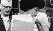 In this April 25, 1977 file photo, Joanne Chesimard, member of the Black Panther Party and Black Liberation Army, leaves Middlesex County courthouse in New Brunswick, N.J. Now known as Assata Shakur, Chesimard was convicted in 1977 of killing a New Jersey state trooper four years earlier, and was sentenced to life in prison but escaped and wound up in Cuba in the 1980's where she continues to reside. (AP Photo, File)