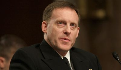 Adm. Mike Rogers, the director of the National Security Administration and commander of the U.S. Cyber Command (Associated Press) **FILE**