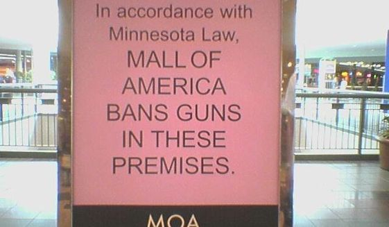 "Minnesota state Rep. Tony Cornish says the al-Shabaab threat against the Mall of America should be enough to motivate mall owners to drop their ""no guns"" policy so citizens can protect themselves. (Facebook/Minnesota Gun Owners Political Action Committee)"