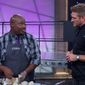 "Joseph Harris (left), a home cook known as the ""Church Singer,"" said it was a ""dream come true"" to be mentored by chefs such as Curtis Stone on the Food Network's ""All-Star Academy."""