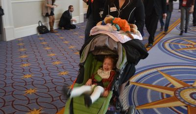 Family at CPAC? Always. (Photo by Judson Phillips)