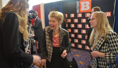 Conservative icon Phyllis Schlafly (Photo by Judson Phillips)