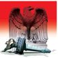 Illustration on the state of American liberty by Alexander Hunter/The Washington Times