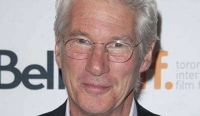 "Richard Gere plays a homeless man in ""Time Out Of Mind,"" scheduled for a September release. (AP, File)"