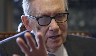 Senate Minority Leader Harry Reid, who just a few days ago praised the GOP for the bill and said his Democratic troops were on board, vowed Wednesday to block the legislation until the abortion language is stripped. (Associated Press)