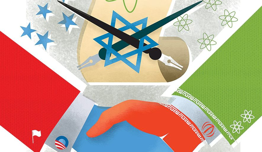 Obama's Iranian Nuclear Negotiations Illustration by Linas Garsys/The Washington Times
