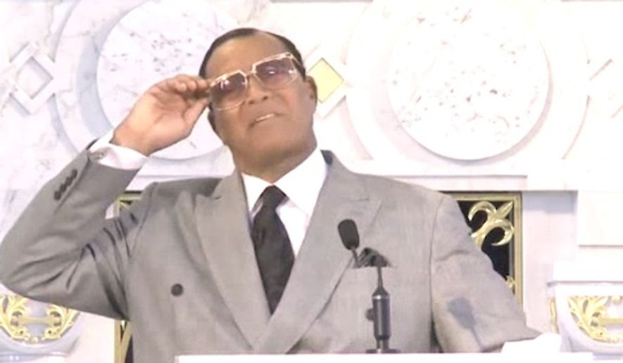 "The Rev. Louis Farrakhan told churchgoers on Sunday that Israelis and ""Zionist Jews"" played ""key roles"" in the September 11 terror attacks that left nearly 3,000 people dead. (YouTube)"
