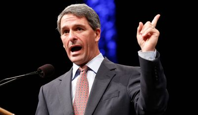 """We want conservative legislators to know that  conservatives in general are supportive of them,"" said former Virginia Attorney General Kenneth T. Cuccinelli II. (Associated Press)"