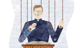 'Net Neutrality' Brings Regulation of the Pulpit Illustration by Greg Groesch/The Washington Times