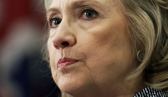 Hillary Rodham Clinton could face up to three years in prison per message if she is found to have broken her word and handled classified information on the secret account, one open records expert told The Washington Times. (Associated Press)