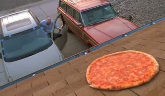 "The real-life owners of the Albuquerque home where ""Breaking Bad's"" Walter White lived are fed up. The show's creator Vince Gilligan is pleading with fans to stop recreating an iconic scene in the show by throwing pizzas on the homeowner's roof. (YouTube)"