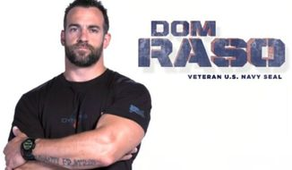 Former Navy SEAL Dom Raso. (Image: YouTube, NRA)