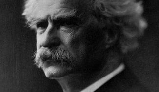 """This undated photo shows author Samuel Clemens, who wrote under the pen name """"Mark Twain."""" The Territorial Enterprise, the historic Nevada newspaper where Twain cut his journalistic teeth, is back in publication for the first time in three decades, and its owners plan to uphold tradition by offering more than just real news. (AP Photo/File)"""