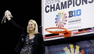 """The Maryland Terrapins were rewarded for an undefeated Big Ten regular season and tournament title by earning a No. 1 seed in the NCAA Women's Basketball Tournament. """"I think it shows we had a really consistent season, when you go undefeated and win your conference tournament,"""" coach Brenda Frese said. """"At this point now, none of it matters. But it's nice to have Maryland recognized as a No. 1 seed.""""   (Associated Press Photographs)"""