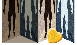 Illustration on love, forgiveness and racial harmony by Alexander Hunter/The Washington Times