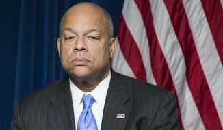 Homeland Security Secretary Jeh Johnson acknowledged at Tuesday's hearing that 282 people have had to be kicked out of the amnesty program because of criminal convictions or gang ties that were later discovered. That was out of a population of more than 600,000 who were approved. (Associated Press)