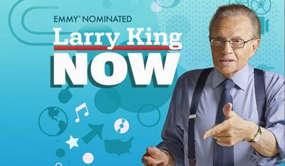 Veteran broadcaster Larry King is in the nation's capital to celebrate 58 years in the news and interview business. (Ora TV)